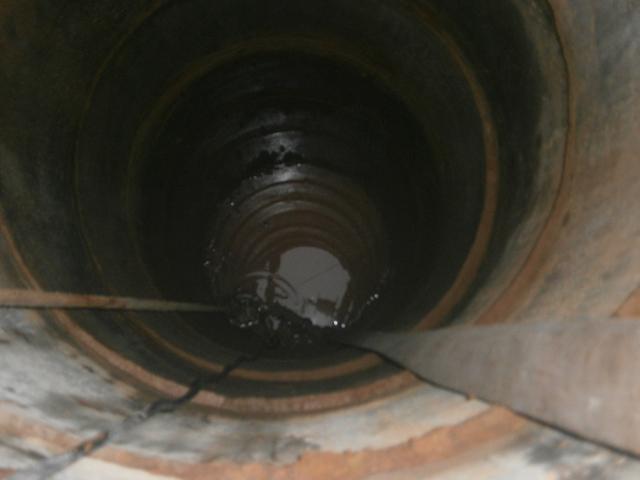 Чистка питьевого колодца